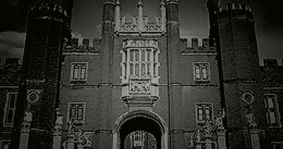 Anne Boleyn a popular apparition is seen in many different places among them she haunts Hampton Court's corridors wearing a blue dress.