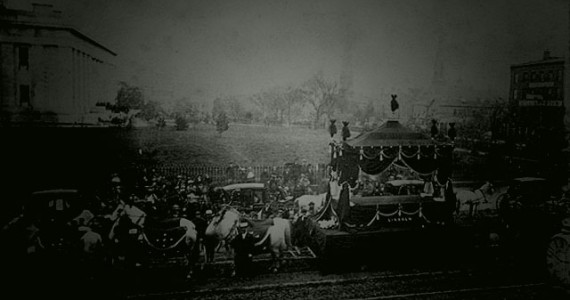 During April every year, witnesses have reported seeing the ghost of Abraham Lincoln's funeral train.