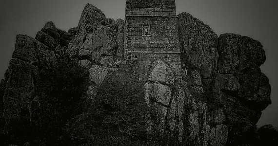 Bodmin Moor surrounds the chapel at Roche Rock in Cornwall. It is haunted by the despairing cries from the ghost of Jan Tregeagle.