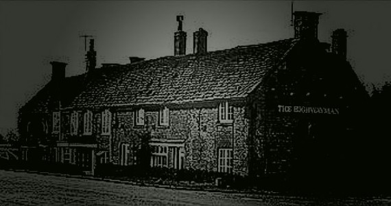 Situated opposite the church of St Thomas a Beckett, The Highwayman Inn is haunted by a number of ghostly apparitions.