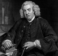 Dr.Samuel Johnson helped investigate the Ghost of Cock Lane