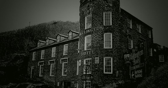 Wellington Hotel. Boscastle, Several ghosts are said to haunt this Hotel.