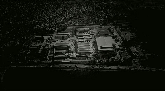 Arial shot of Bretby Business Park, Stafford