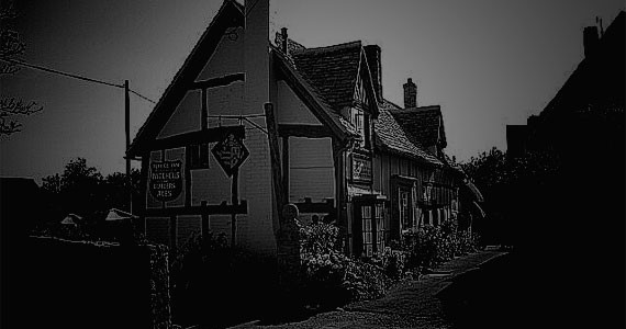The ghost of Lola Taplin, a former landlady of the Fleece Inn